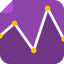 adapt, analytics, chart, effectiveness, graph, results, stats icon