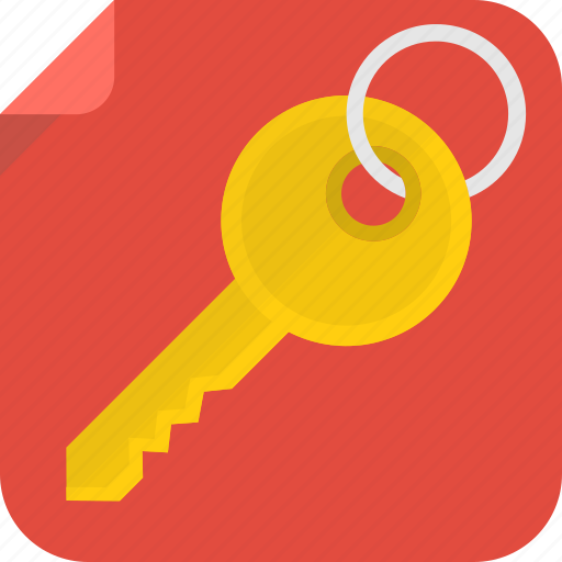 close, key, open icon