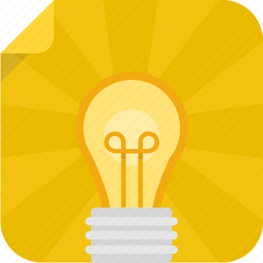 bulb, creative, idea, light, light bulb icon