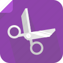 cut, paste, scissors icon