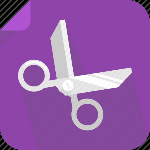 cut, paste, scissors icon