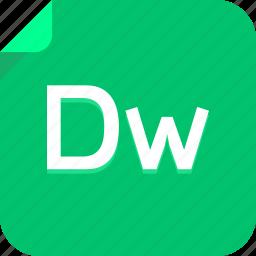 dreamweaver, dw, file icon