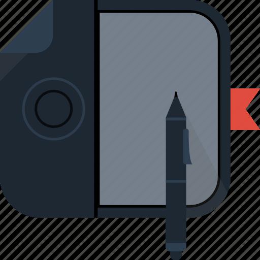 device, ipad, tablet, wacom icon