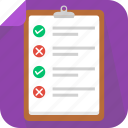 checklist, list, notepad, paper icon