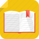 book, history, literature, open, read, story, study, writer icon