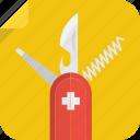 corkscrew, swiss, knife, file