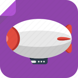air balloon, airship, balloon, fly, transport, travel icon