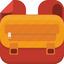 backpack, bag, baggage, luggage icon