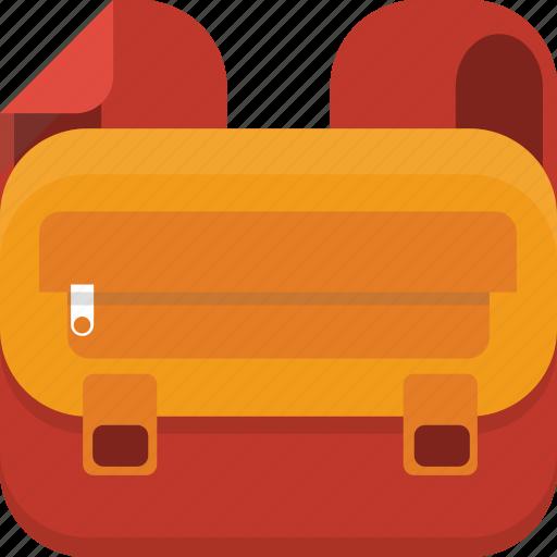 backpack, bag, baggage, luggage icon