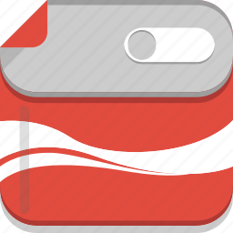box, can, coca, coca cola, coke, conserve, drink, soft drink, tin icon