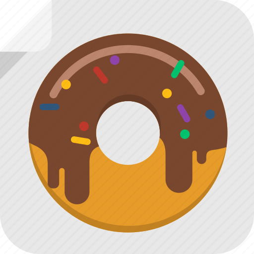 dessert, donut, doughnut, fat, food, snack, sweet icon