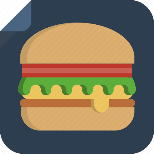 fast food, food, hamburger, mcdonald, sandwich icon