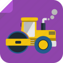 drive, farmer, field, tractor, transport icon