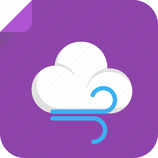 cloud, cold, hot, meteorology, season, storm, warm, weather, weather forecast, wind, windy icon
