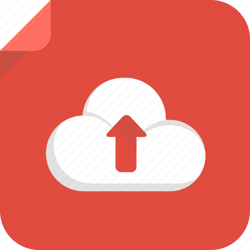cloud, file, upload, web icon