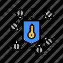 protocol, sftp, transfer, ssh, protection, bug icon