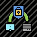 protocol, protective, transfer, ssh, file, security icon