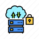 protocol, server, ssh, protection, data, security icon