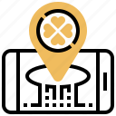 clover, location, lucky, place, smartphone