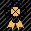 clover, festival, lucky, party, ribbon
