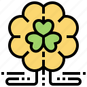clover, leaf, luck, patrick, plant icon