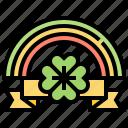 clover, day, lucky, patrick, rainbow