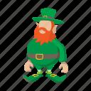 cartoon, clover, green, iconholiday, irish, leprechaun, patrick icon