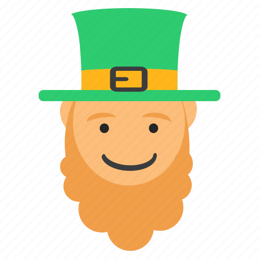 beard, day, festival, irish, leprechaun, patrick's, saint icon