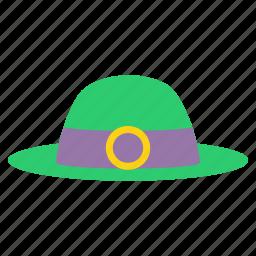 clothing, festival, hat, irish, leprechaun, luck, saint patrick's day icon