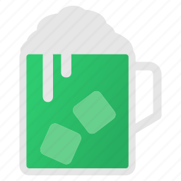 alcohol, beer, beverage, celebrate, drink, irish, saint patrick's day icon