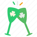 alcohol, celebrate, cheers, drink, irish, party, saint patrick's day icon