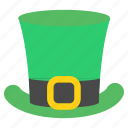 day, green, hat, irish, leprechaun, patrick's, saint icon