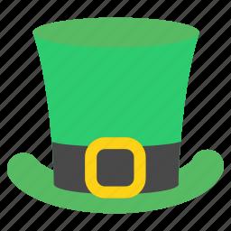 day, green, hat, irish, leprechaun, patrick's, saint icon