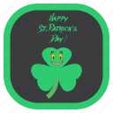 celebration, festival, greeting, irish, saint patrick's day, shamrock, wishes icon