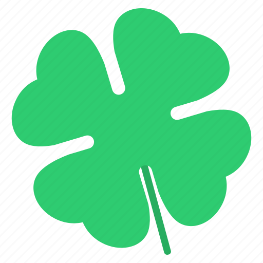Clover, four, leaves, day, shamrock, patrick's, saint icon - Download on Iconfinder