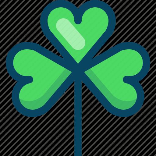 clover, day, luck, nature, patricks, trefoil, yumminky icon