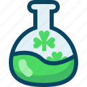 clover, day, drink, patricks, potion, trefoils, yumminky icon