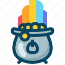 day, kettle, kettledrum, patricks, rainbow, treasure, yumminky icon