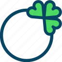 clover, day, jewel, patricks, ring, trefoil, yumminky icon