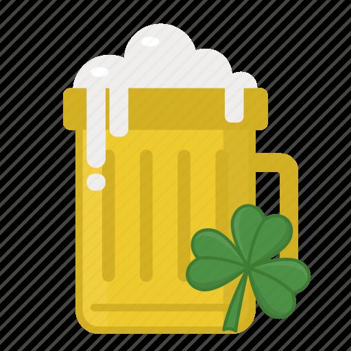 beer, beer mug, irish beer, lager, saint patrick's day icon