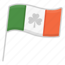 celebration, holiday, ireland flag, irish, party, saint patrick's day, shamrock icon