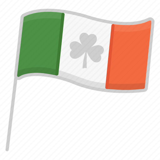 celebration, holiday, ireland flag, irish, party, saint patrick's day, shamrock icon