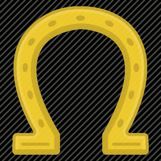 horseshoe, irish, luck icon, magnet, saint patrick's day, tradition icon