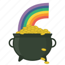 festival, fortune, gold, irish, of, pot, rainbow icon