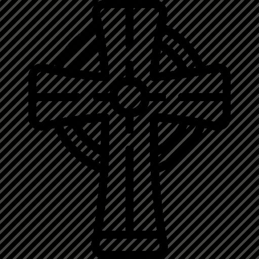 Cross, religion, christian, catholic, amulet, crucufix icon - Download on Iconfinder