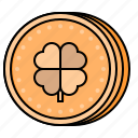 gold, coin, st patricks day, irish, leprechaun, treasure