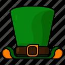 hat, st patricks day, irish, clothing, leprechaun