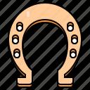 horseshoe, st patricks day, irish, luck, ireland