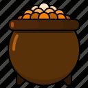 pot, st patricks day, irish, gold, leprechaun, treasure