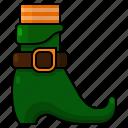 shoe, st patricks day, irish, leprechaun, footwear, sock, boot